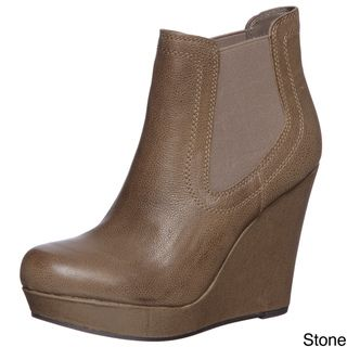 Seychelles Womens Prime Suspect Wedge Ankle Booties