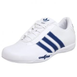 Mens Goodyear Race Driving Shoe,White/Blue/White,5.5 M US: Clothing