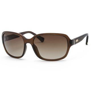 Coach Womens Brown Fashion Sunglasses
