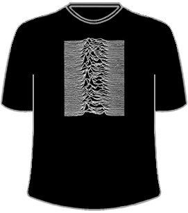Joy Division, Unknown Pleasures T Shirt Clothing