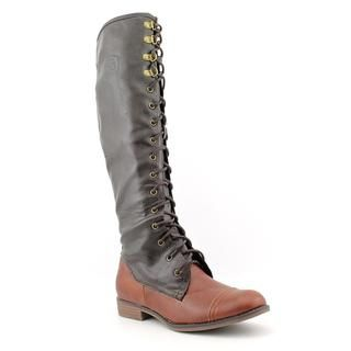 Rocket Dog Womens Barker Faux Leather Boots