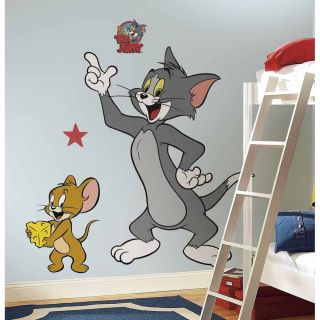 RoomMates Hanna Barbera Tom and Jerry Giant Wall Decals