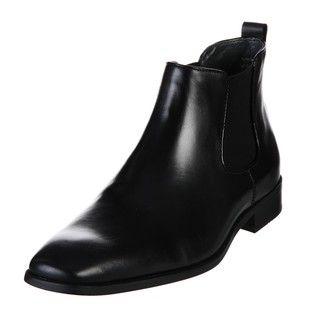 Calvin Klein Mens Garrison Slip on Boots