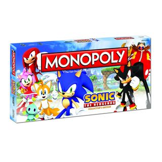 Monopoly Sonic the Hedgehog Collectors Edition Game