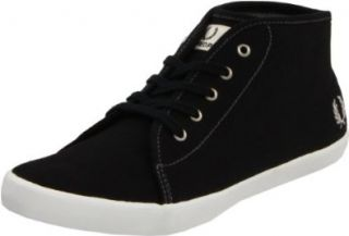 Fred Perry Womens Morgan Canvas Boot,Black,3.5 UK/5.5 M US Shoes