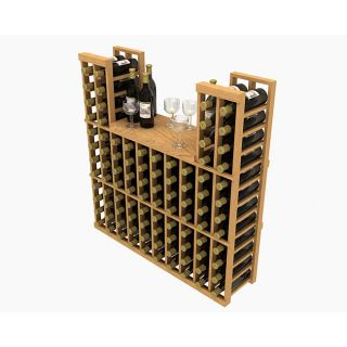 WholeCellar Stackable 100 bottle Table Top Wine Rack