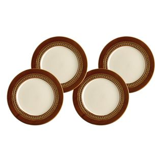 Paula Deen Southern Gathering Chestnut 8 inch Salad Plates (Set of 4