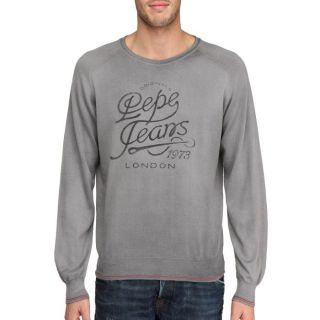 Modèle Kelson. Coloris  gris. Pull PEPE JEANS Homme, 98 % coton, 2