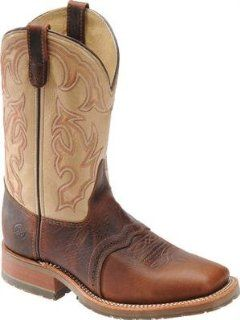 Double H Boot   Mens   11 Bison Roper Shoes