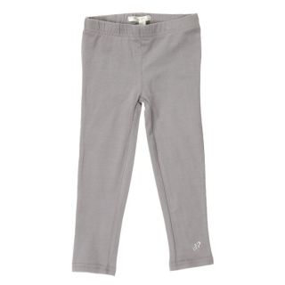 PICK OUIC   Coloris Gris   Legging fille uni   Composition 95% coton