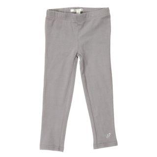 PICK OUIC   Coloris Gris   Legging fille uni   Composition 95% coton