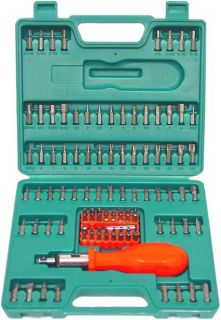 GRIP 105 piece Ratcheting Screwdriver Set