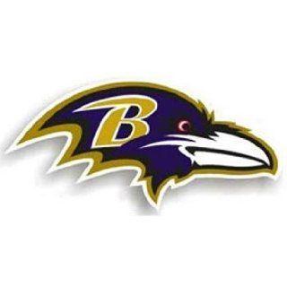 Baltimore Ravens 12 Right Logo Car Magnet Sports