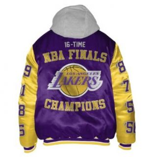 Los Angeles Lakers Sixteen Time Championship Satin Jacket