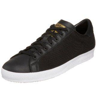 Mens Rod Laver Fashion Sneaker,Black/Black/Metallic Gold,7.5 D Shoes