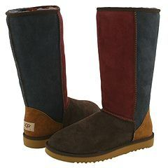 Boho Patchwork Size 10 Classic TALL Ugg Boots Uggs Shoes