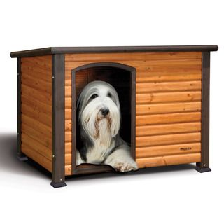 Precision Pe Exreme Large Ouback Log Cabin Dog House