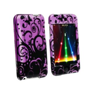 Purple/ Black Swirl Case for Apple iPod Touch
