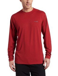 Columbia Mens Mountain Tech Long Sleeve Shirt Knit Top