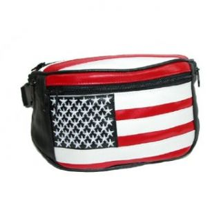 American Flag Fanny Pack Clothing