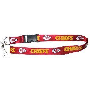 Kansas City Chiefs Lanyard   ID Holder