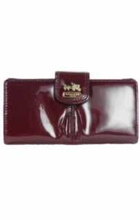Coach Madison Patent Leather Skinny Credit Card Wallet