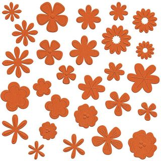 Flower Pot Flowers Tootsie Die Cuts (Pack of 108)