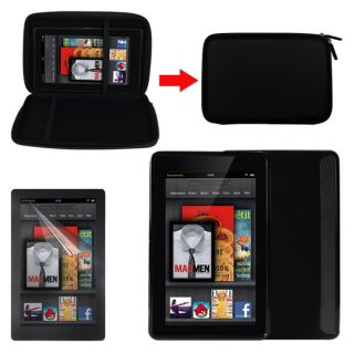 Deluxe  Kindle Fire EVA Case/ TPU Case/ Screen Protector