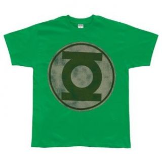 Green Lantern Logo T Shirt Clothing