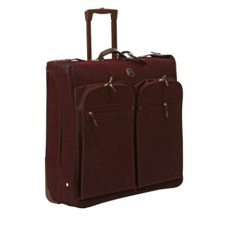Brics 50 inch Eggplant Wheeled Garment Bag