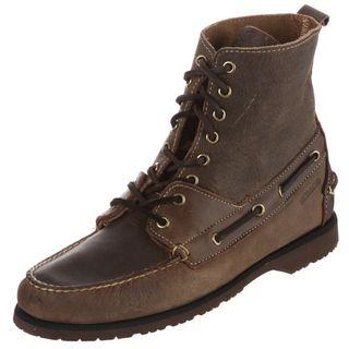 Sebago Mens Franklin High Brown Boots