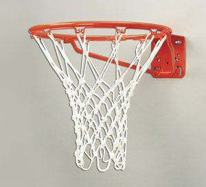 Bison Universal Plate Front Mount Basketball Rim Sports