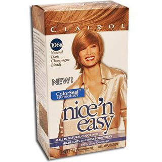 Nicen Easy #106B Natural Dark Champagne Blonde (Pack of 4