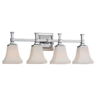 Sea Gull Lighting Four Light Chrome Vanity Fixture Today $252.00