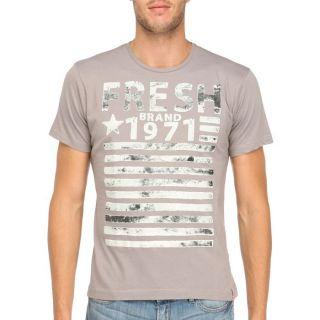 FRESH BRAND T Shirt Homme Gris   Achat / Vente T SHIRT FRESH BRAND T