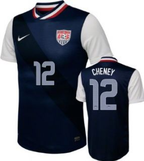Lauren Cheney #12 Away Nike Soccer Jersey United States
