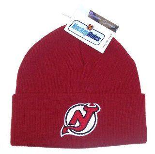 New Jersey Devils Cuff Knit Beanie Hat Cap Sports