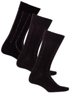 Mens Black Health Socks Assorted 3 Pack  Diabetic Socks