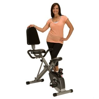 Exerpeutic 400XL Folding Semi Recumbent Exercise Bike