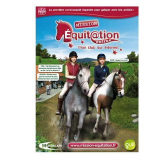 REAL STORIES MISSION EQUITATION ONLINE / JEU PC CD   Achat / Vente PC