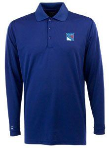 New York Rangers Long Sleeve Polo Shirt (Team Color