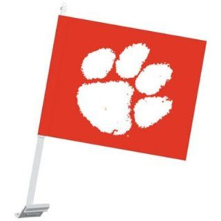 Clemson Tigers Official Logo Car Flag