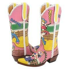 Old Gringo Star Cow Pink/Yellow