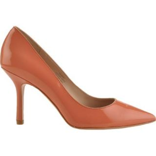 Womens Joan & David Amery Coral Patent Leather