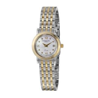 Raymond Weil Womens Toccata Two tone Steel Quartz Diamond Watch