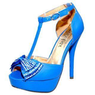 White Satin Rhinestone Platform Bridal Pumps Heels Shoes Shoes
