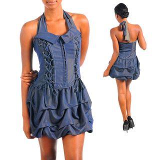 Stanzino Womens Navy Casual Party Dress