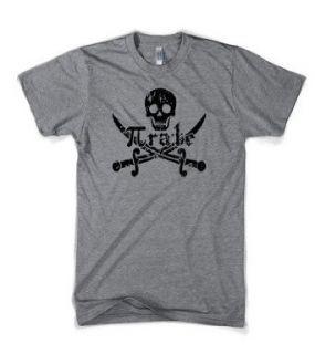 Pirate shirt funny math pirate t shirt classic math nerd