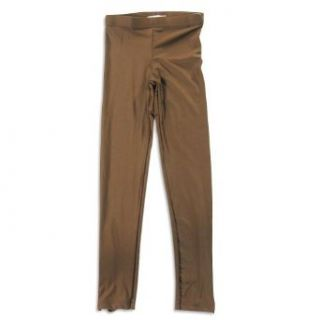 So Nikki   Girls Zipper Legging, Brown 22190 14 Clothing