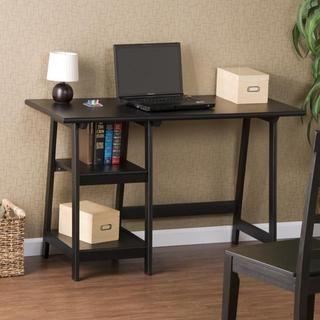frame Black Hardwood Desk